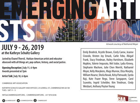The Emerging Artists Exhibition is right around the corner!