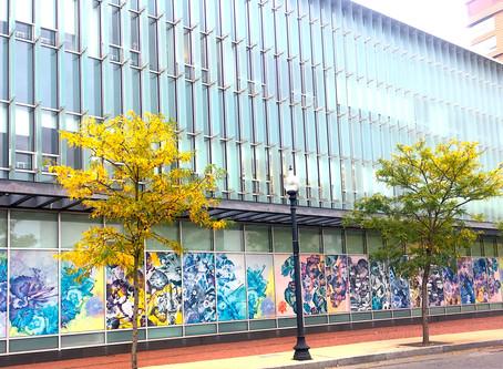 Northeastern University, West Village Building H exterior on Parker St. and Huntington Ave.