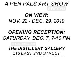 Dear So & So: A Pen Pals Art Show!