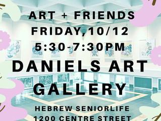 Daniels Art Gallery! 10/12/18