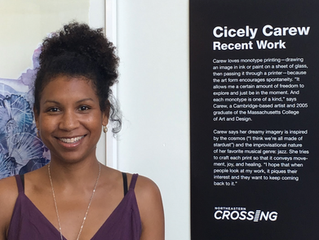 Northeastern Crossing Closing Reception! Wednesday, April 18, 5:30pm-7:30pm