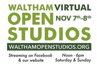 VIRTUAL Open Studios! 11/7&8