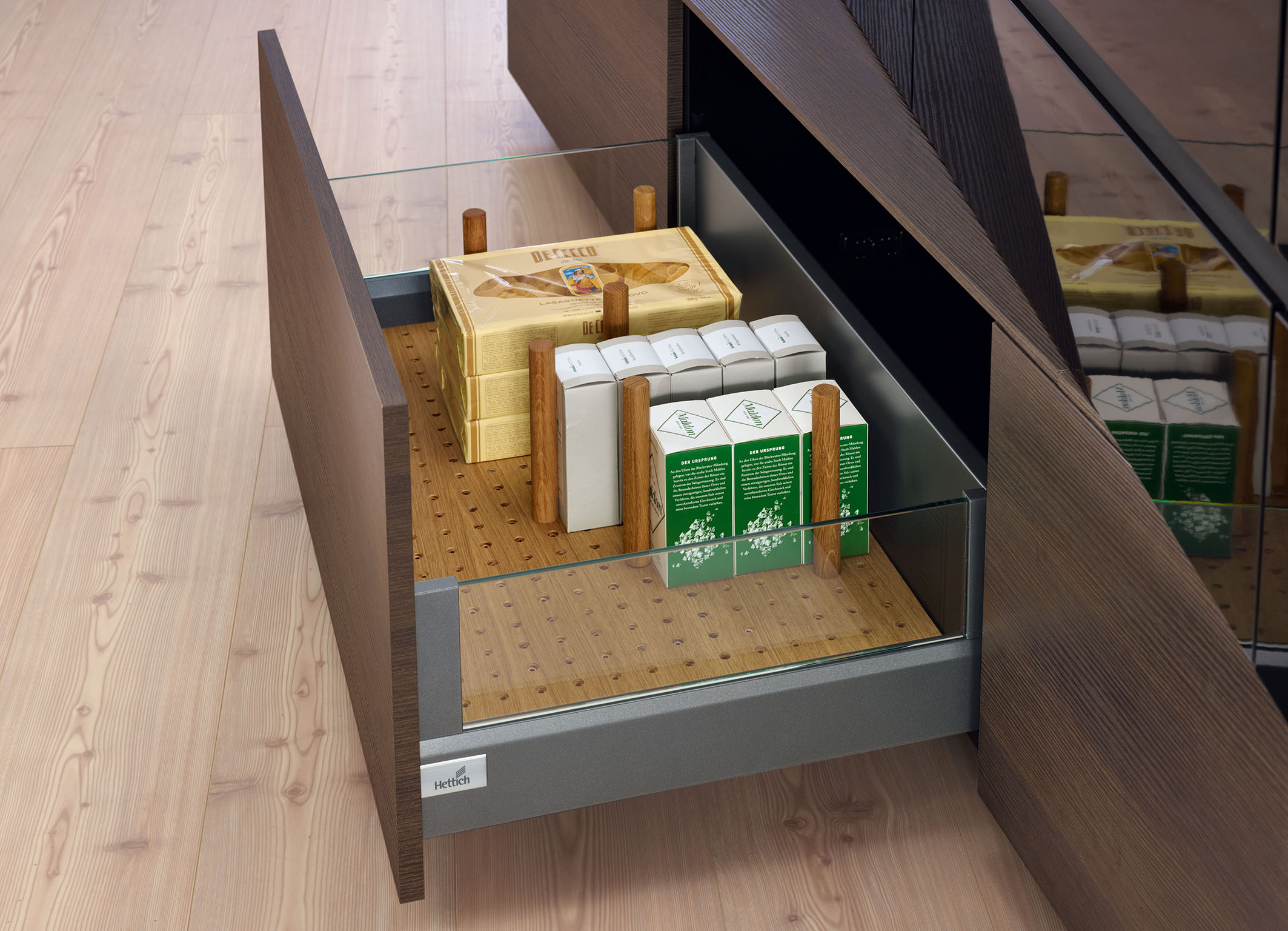 Innotech Drawers with Glass Sides