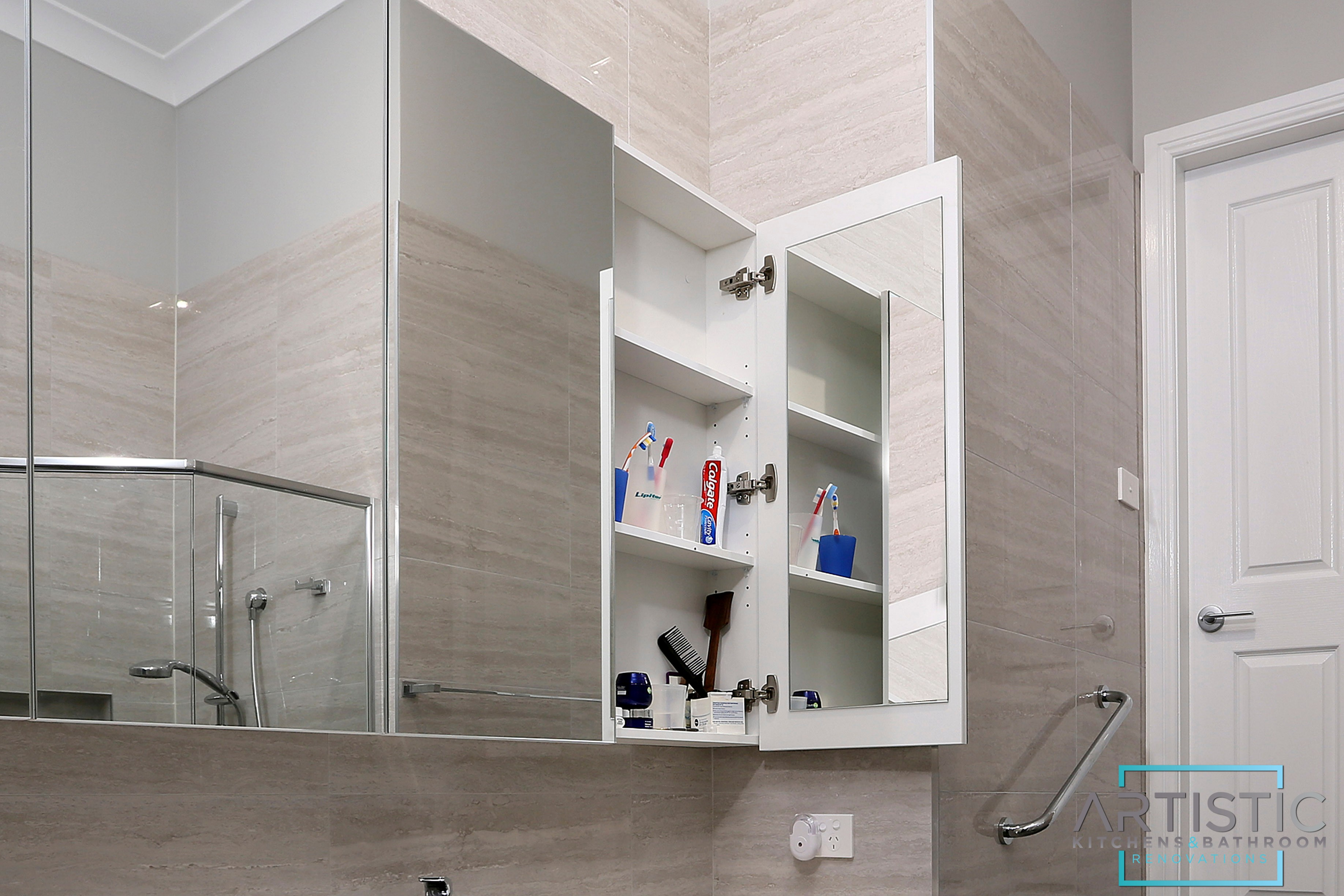Custom Shaving cabinets