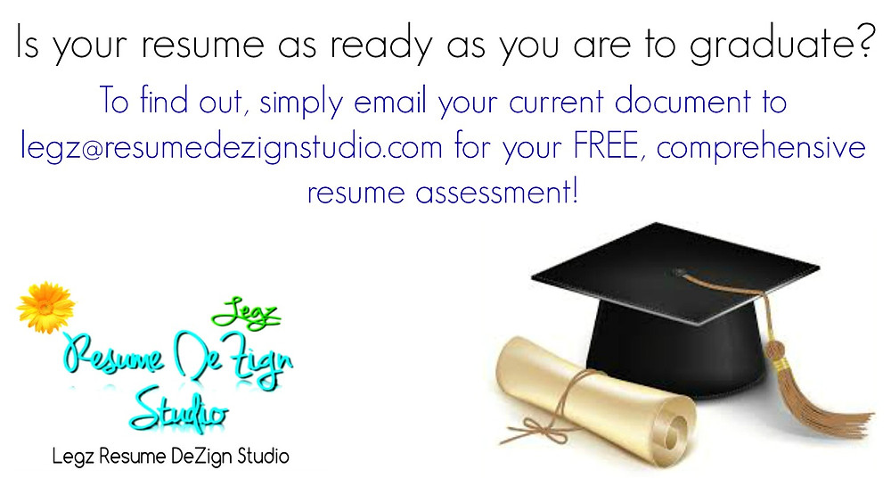 Is your resume as ready as you are to graduate?