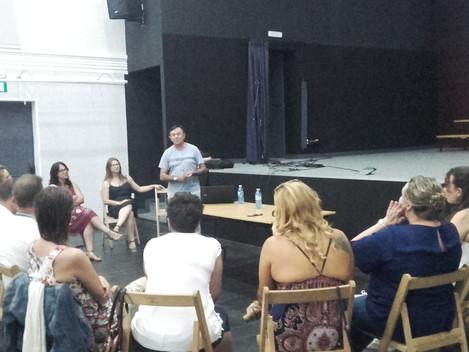 """""""Presentación de ADIAF ás Familias de UN MÁIS"""""""
