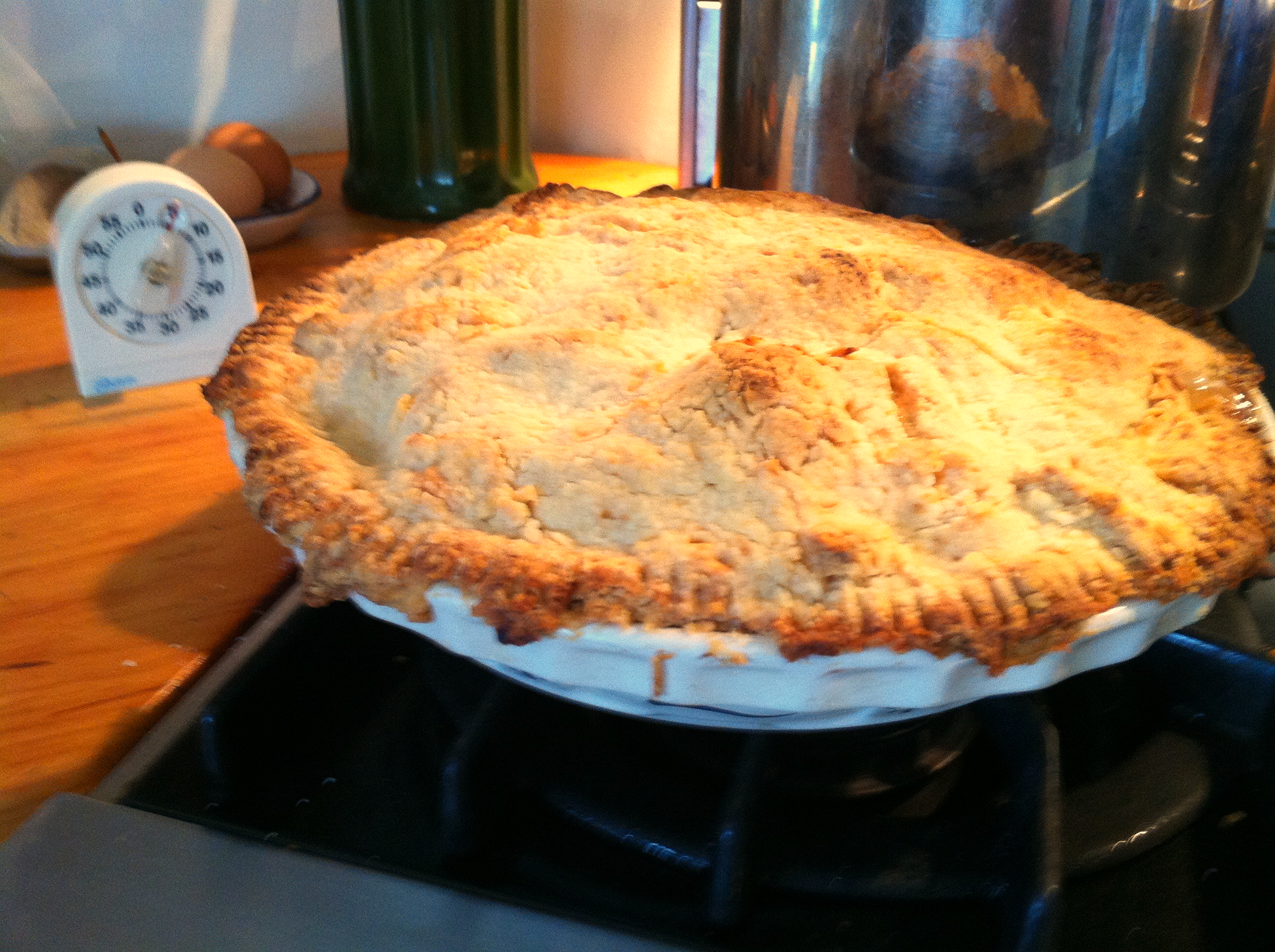 Pie from the Garden