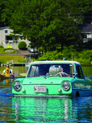 The Amphicar (Photo: Jamie Bloomquist