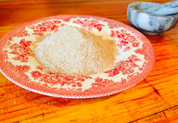 Mound of Smoked Sea Salt