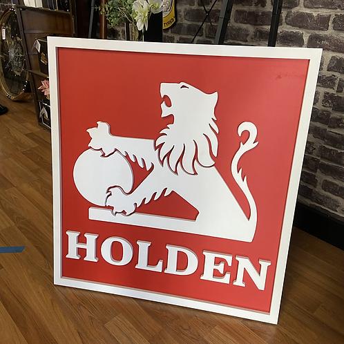 Large Custom Holden Sign