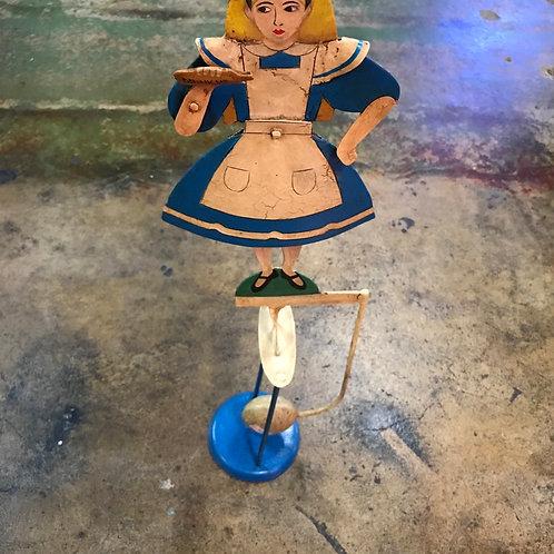 Alice in wanderland garden ornament