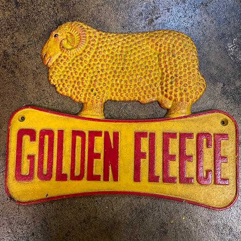Golden Fleece sign