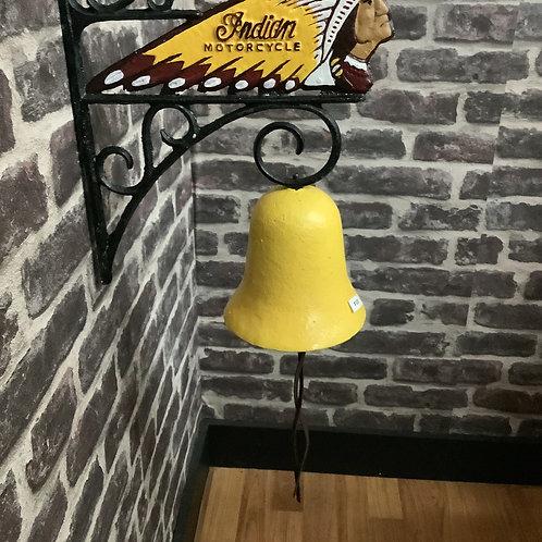 Indian head bell cast iron