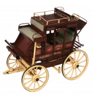 """Cobb and co"" wagon"