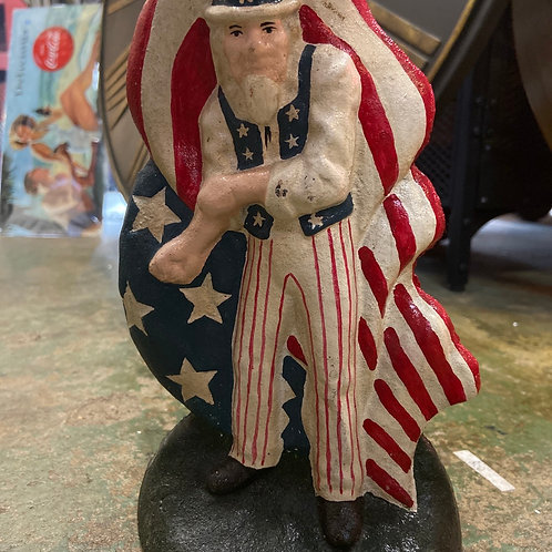 Uncle Sam door stop