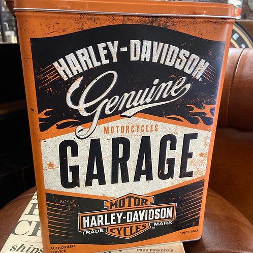 Harley Davidson Tall Tin