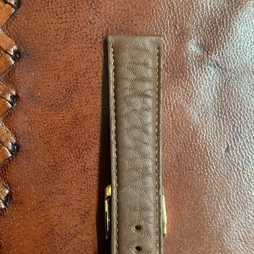 20mm rochet bull brown leather band