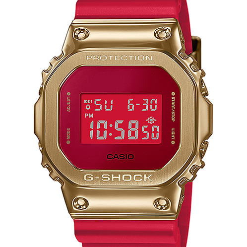 GM5600CX-4D RED AND GOLD G-SHOCK