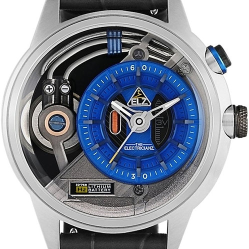 Electricianz- The Stone Blue dial