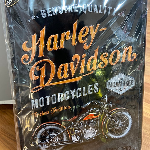Harley Davidson Tim Sign