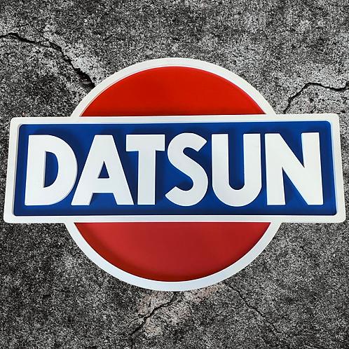 Large Datsun Sign 97cm x 70cm tall