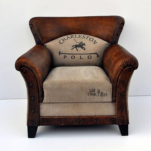 Charleston polo arm chair