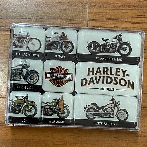 Harley Davidson Magnets