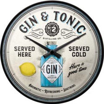 Gin & Tonic Clock