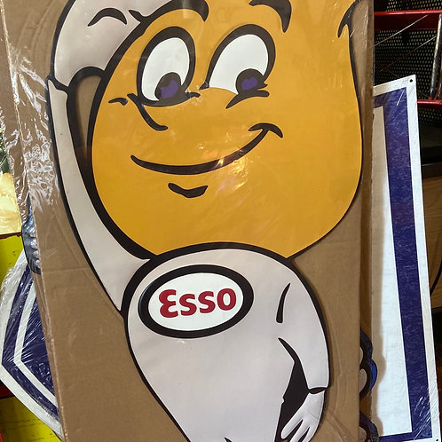 Large Esso tin sign