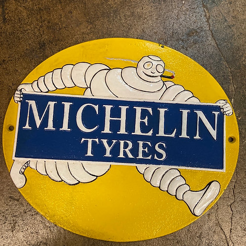Michelin man sign