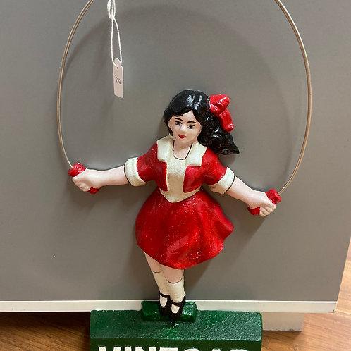 Jumping rope girl