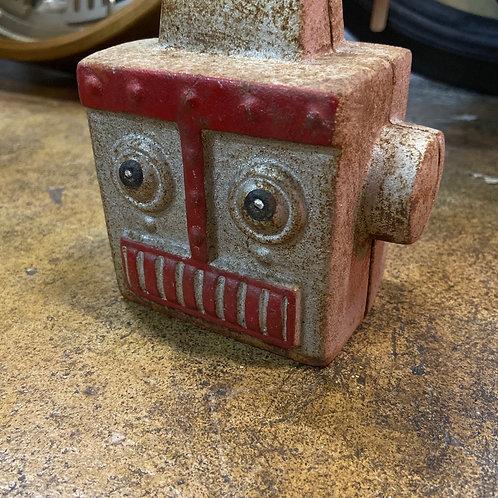 Robot head money bank