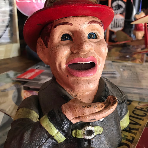 Firefighter money box