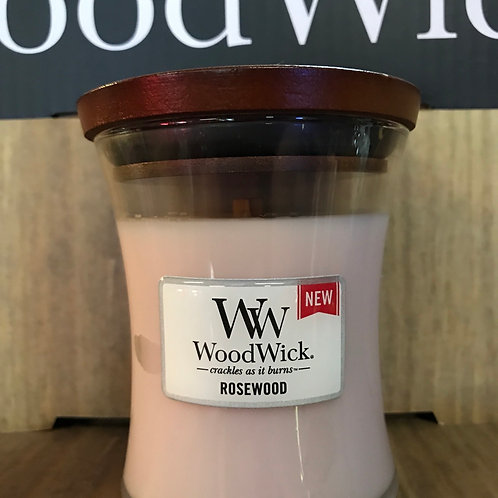 Woodwick crackling candle