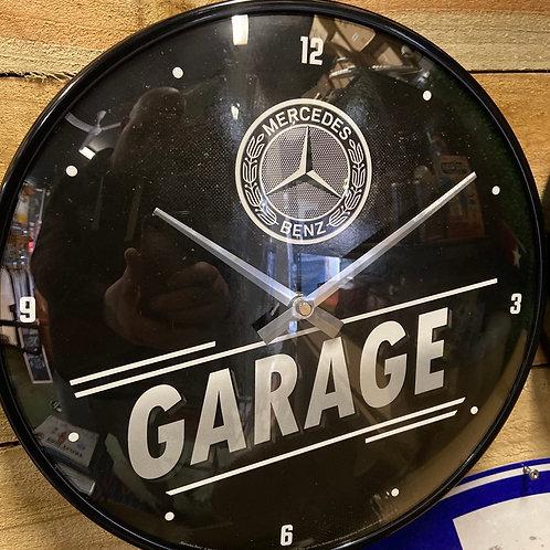 Mercedes garage clock