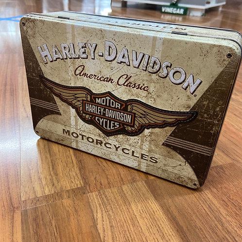 Harley Davidson Storage Tin