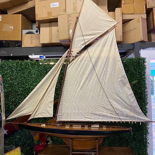 Wooden sail ship