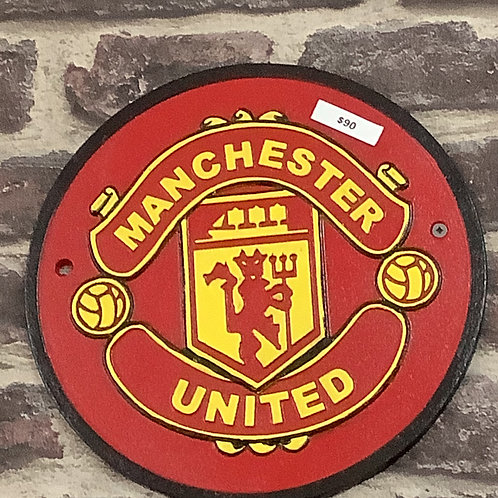 Cast iron Manchester United sign