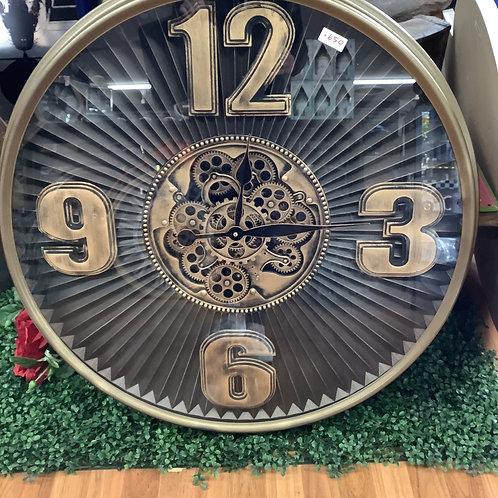 Large gear clock