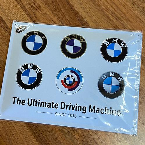 BMW Tin Sign