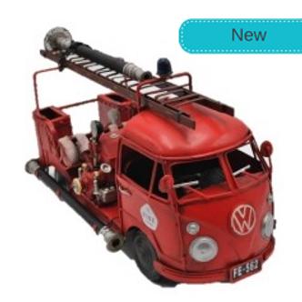 RED KOMBI FIRE TRUCK