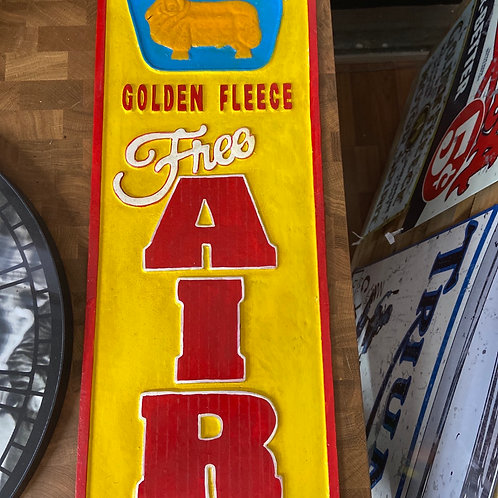 Golden Fleece Air sign