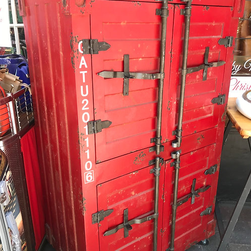 Shipping container cupboard
