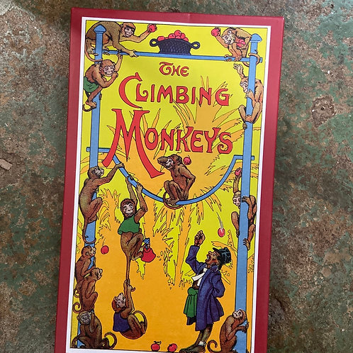 The climbing monkey board game
