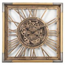 80x80cm Gear Wall Clock