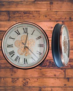 53cm wide gear clock