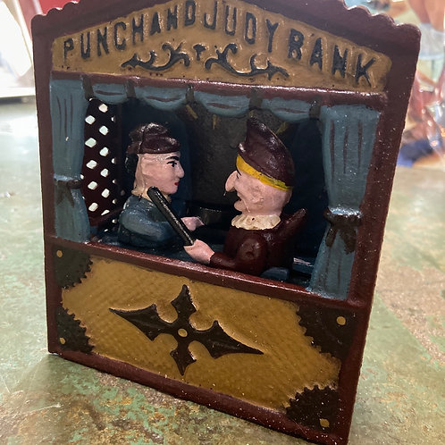 Punch and Judy bank