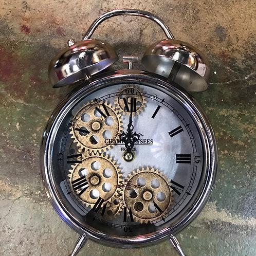 Alarm clock style clock
