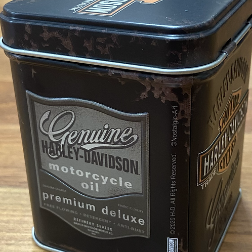 Harley Davidson Small Coffee/Tea Tin