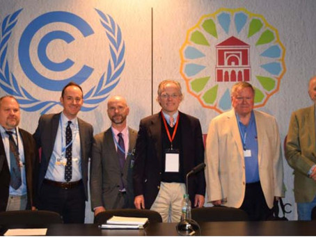 Interfaith Oceans Presents a Panel on Oceans at UN Climate Talks at Marakesh